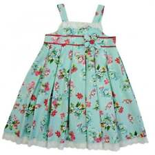 Powell Craft Blue Floral Strapped Dress