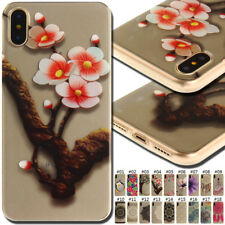 For Apple iPhone IMD TPU Rubber Cover Silicone Soft Back Case Protective Skin