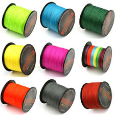 1000M, 9 Colors, 6-100 LB Tackle Dyneema Super Spectra Braid Fishing Line Strong