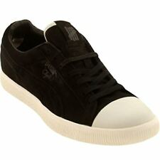 PUMA Clyde X Undefeated Coverblock Sneakers Black Whisper White 352778 04