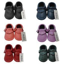 Mejale Baby Shoes Soft Sole Leather First Walker Tassel Infant Toddler Moccasins
