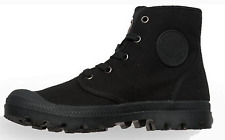 New Palladium Pampa Hi Black Black womens Shoes Casual Boots Ankle