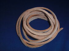 """3/16"""" x 72"""" (Qty 1-4) Vegetable Tanned Leather Lace Strip Bird Toy Part Parrot"""