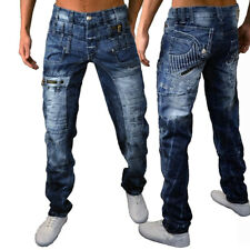 Mens New 100% Authentic Kosmo Lupo Jeans Size 30 - 42 Designer Quality Denim K&M