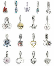 Genuine 925 sterling silver Animal Pendant Beads Dangle Beads genuine charm Bead