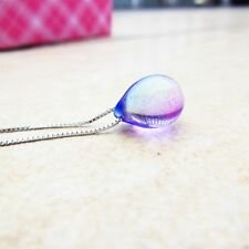 Fashion Mermaid Necklace Beach Mermaid's Tears Sea Sand Pendant Necklace Jewelry