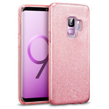Bling Glitter Sparkle Shockproof Soft TPU Skin Case Cover For Samsung Galaxy S9