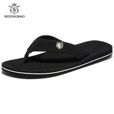 Summer Fashion Men's flip flops Beach Sandals for Men Flat Slippers non-slip