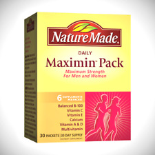 Nature Made Daily Maximin Pack - 30 Packets Dietary Supplements