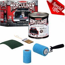 Brush Roll On Bed Liner Kit Herculiner Protective Truck Coating Resistant New