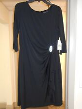 WOMENS EVENING/COCKTAIL DRESS,  BRANDED JESSICA HOWARD BLACK SIZE 14,