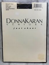 Donna Karan New York Just Sheer Midnight Navy Style 224 Small
