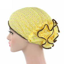 Women lace Beanie Hat flower Bonnet Chemo Cap Scarf Hijab Islamic Turban