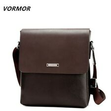 Bag Vintage Leather Pu Men Messenger Satchel Shoulder Crossbody Cross Body Flap