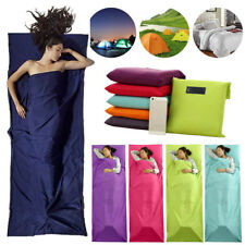 Portable Outdoor Camping Sleeping Bag Liner Hostel Bags Travel Sack Sheet Newly