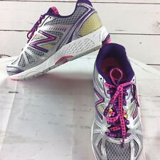 New Balance KJ880SPY Running Track Shoes Purple Pink Youth Girls Extra Wide