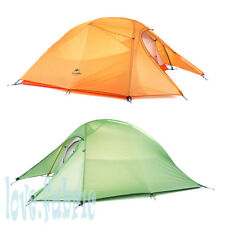 Ultra Light 2~3 Persons Tent Double Layer 210T Nylon for Family Camping Picnic