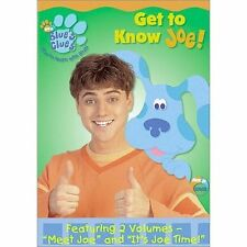 Blues Clues - Get To Know Joe (DVD, 2002)