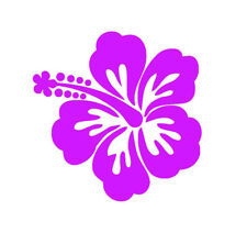 BOGO - Hawaiian Hibiscus Vinyl Decal Car + FREE Buy 1 Get 1