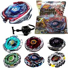 Beyblade 4D Fusion Top Metal Fight Master Rapidity Launcher Battle Kids Toys AS