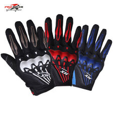 Motocross Racing Pro-Biker Motorcycle Bike Cycling Full Finger Gloves M - L- XL