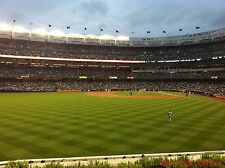 2 Boston Red Sox New York Yankees 5/10 Tickets 3RD ROW BLEACHERS Yankee Stadium