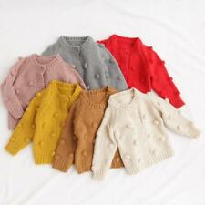 Children's Sweater For Baby Girls Cotton Knit Cardigans Fashion Coat Cardigans