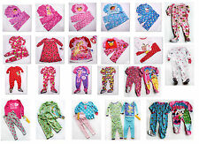 NWT Girls PJs Pajama set Footed Nightgown Fleece NEW Carters Disney Dora 2T 3T 4