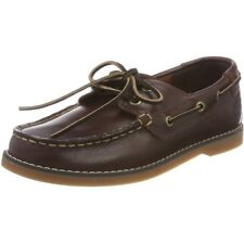 Timberland Seabury Classic Dark Brown Leather Youth Boat Shoes