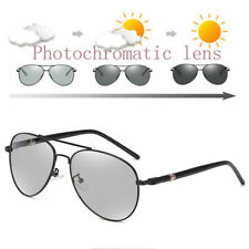 Photochromic Mens Polarized Aviator Driving Sunglasses Eyewear Fishing Vintage