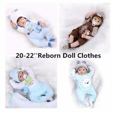 """Baby Clothes Set For 20-23"""" Baby Boy Doll Outfit Reborn Nursery Set NO Bebe Gift"""