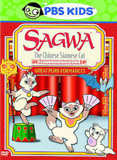 Sagwa - Great Purr-formances - DVD - NEW IN WRAPPING