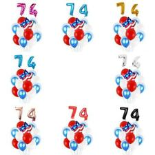 4th of July America US Stripe Flag Party Balloon Set Independence Day Decoration