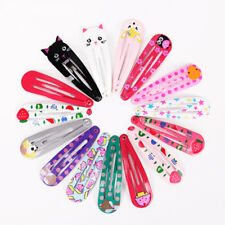 6Pcs Hair Clips Snaps Hairpin Kids Party Gifts Girls Cartoon Hair Accessories