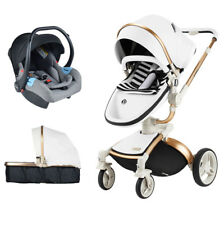 hot mom Baby stroller 3 in 1 high landscape Travel Foldable pushchair&car seat