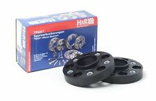 H&R 25mm Black Bolt On Wheel Spacers for 2002-2004 Acura RSX