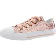 Converse Chuck Taylor All Star Glitter Dust Pink Synthetic Youth Trainers