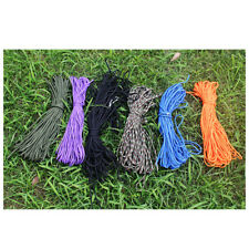 100FT Paracord Rope 7 Stand Parachute Cord Outdoor Camping Survival Rope