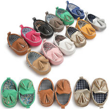 Pea Like Infant Newborn Baby Boy Girl Soft Sole Pram Shoes Trainers 0-18 Months
