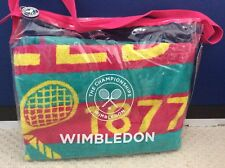 Wimbledon Ladies 130th Championship Towel 2016 Pink/jade Brand New In Bag No 5