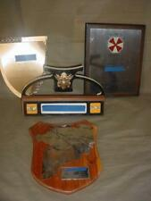 LOT OF 4 VIETNAM WAR ARMY COLONEL'S PLAQUES DESK NAME PLATE OPERATIONS AWARD