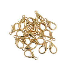 20pc 18mm Lobster Claw Clasps Jewelry DIY Making Findings Accessories Bronze