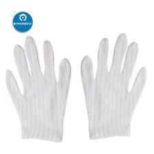Unisex Anti Static Gloves ESD Safe Cell Phone PCB Repair Gloves Finger Protector