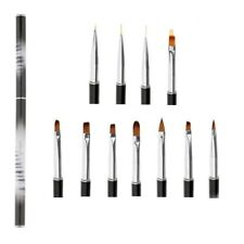 Nail Art Brushes Set Liner Painting Drawing Tool Carving Sculpting Brush DIY
