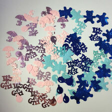 It Is Boy or Girl Baby Shower Table Confetti Birthday Christening Party Favor