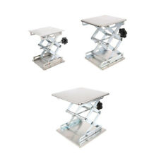 3 Sizes Stainless Steel Lab Stand Table Scissor Lift laboratory Scissor Jack