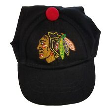 Chicago Blackhawks NHL Licensed LEP Dog Pet Baseball Cap Red Hat Sizes S-XL