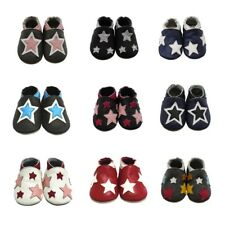 Mejale All Star Baby Flats Shoes Leather Slippers Soft Sole Moccasins 0-36Months