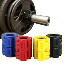 """1 Pair Barbell Clamps 2"""" Olympic Dumbbell Bar Weight Spinlock Collars Training"""