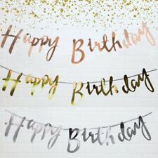 Happy Birthday Bunting Banner Party Decoration Birthday Party Supplies NS
